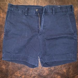"""Polo Classic Fit Navy Chino Shorts (6"""")"""